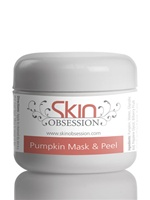 Pumpkin Enzyme Mask & Peel with Glycolic Acid - helps with Acne Scars, Wrinkles, fine lines & Acne