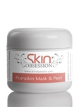 Pumpkin Enzyme Mask & Peel with Glycolic Acid - Reduces Acne Scars, Pimples, Wrinkles, Dark Circles, & Acne